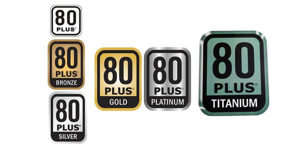 certificazioni alimentatore 80 plus